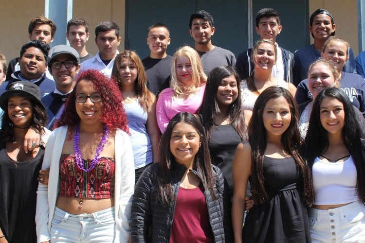 Some of the Academy of Success 2015 Graduating Class