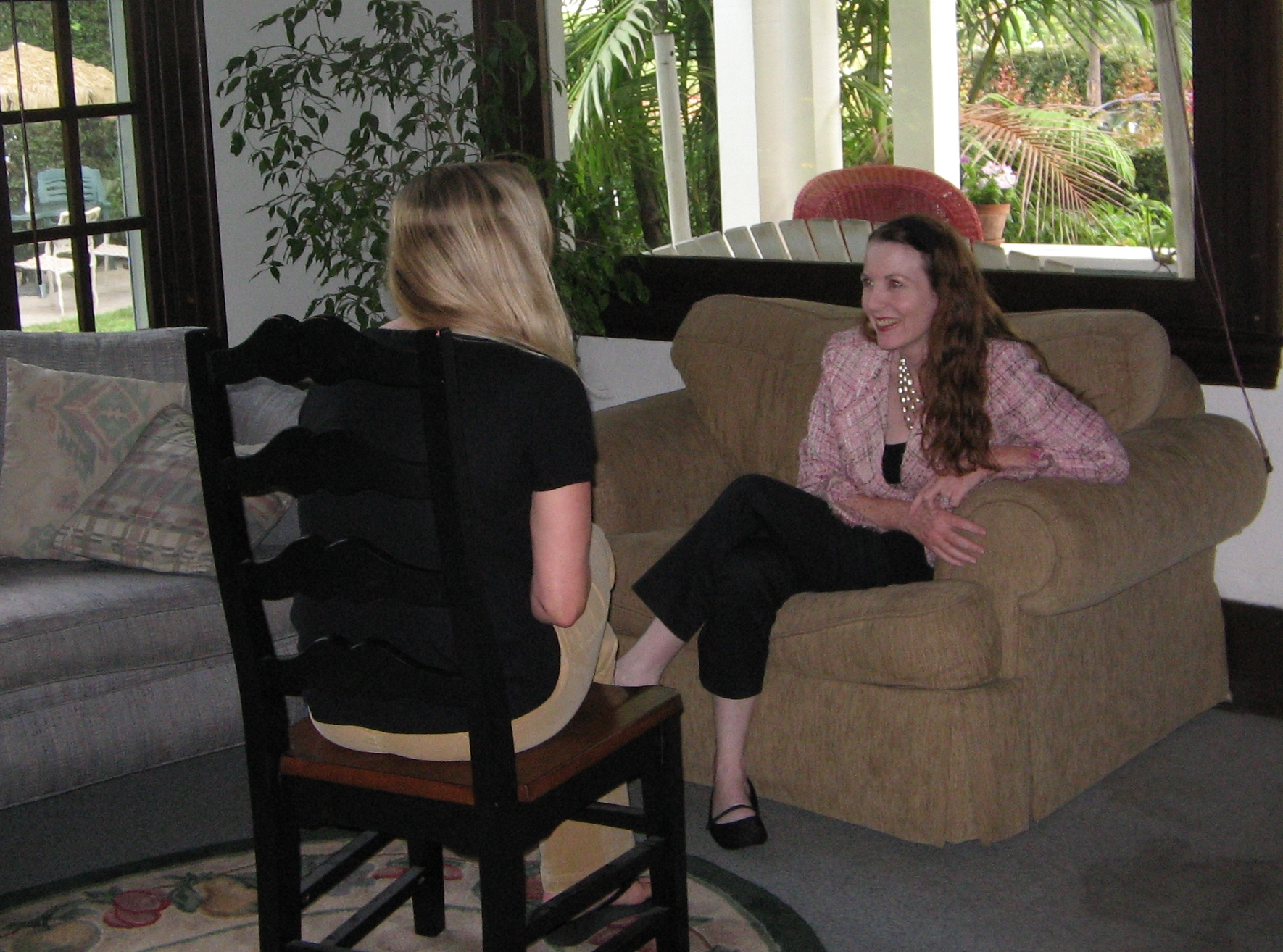 2008 Casa Serena one-on-one personal counseling