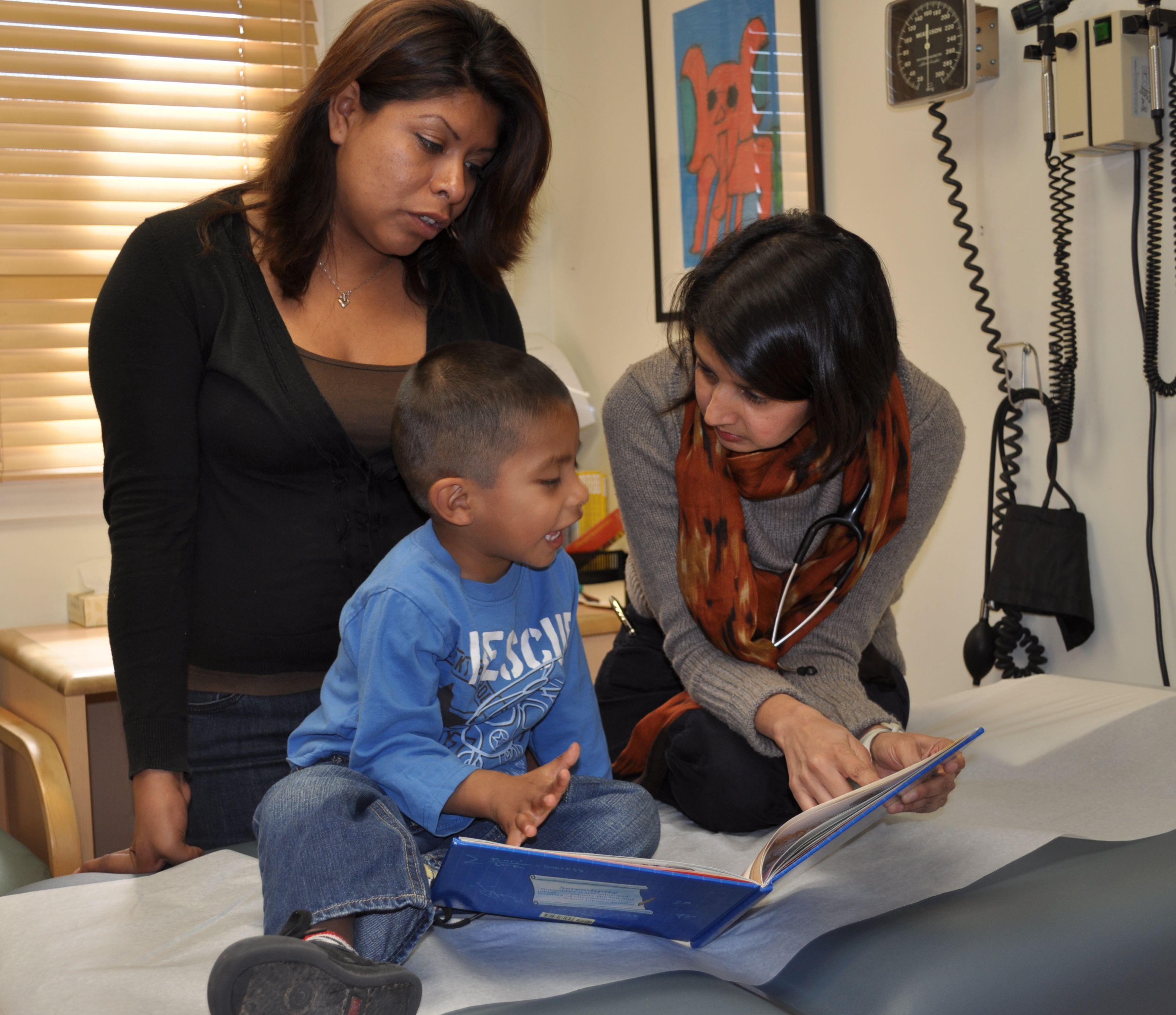 Santa Barbara Neighborhood Clinics: patients in examining room