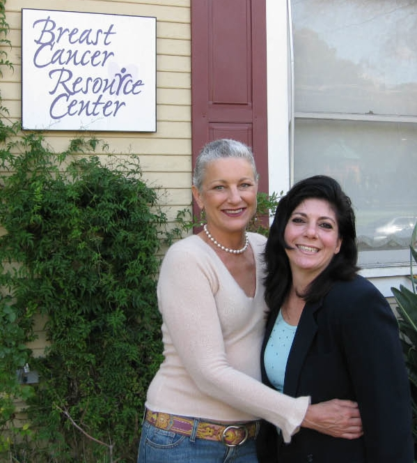 2008 Breast Cancer Resource Center two women in the pink