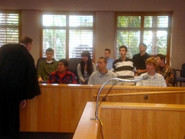 CADA - Judge speaking to young men