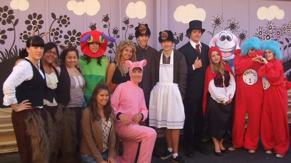 2010 Carpinteria Children's Project at Main costume group of kids