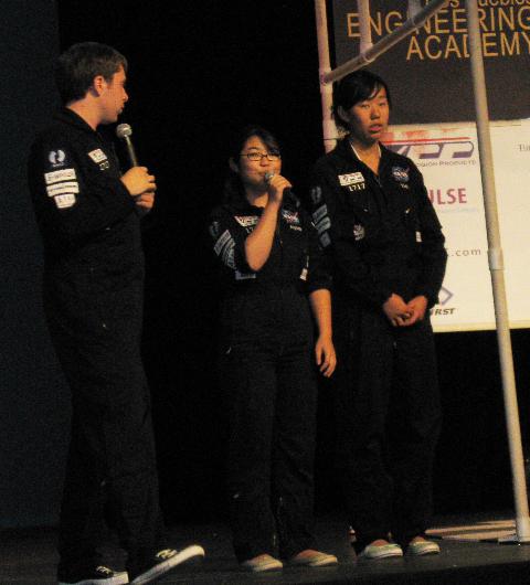 2008 Dos Pueblos Engineering Academy 3 student speakers