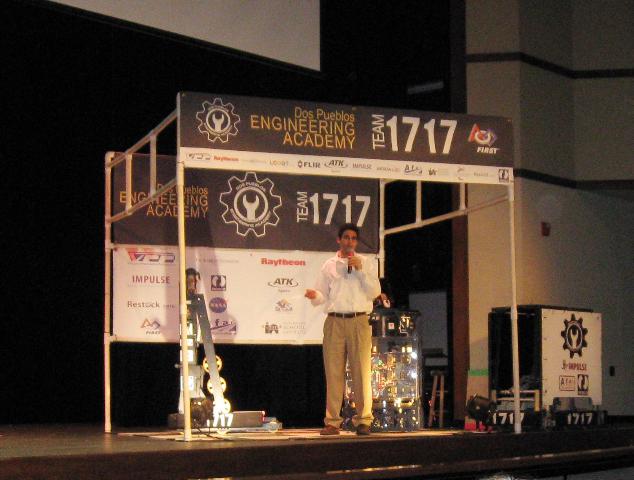 2008 Dos Pueblos Engineering Academy exhibition at science fair