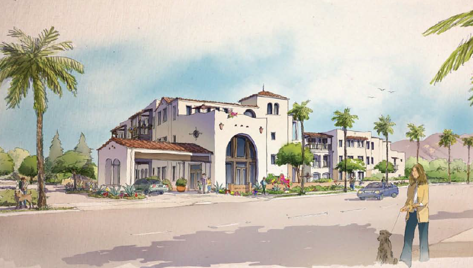 Artist Rendering Of Gardens On Hope