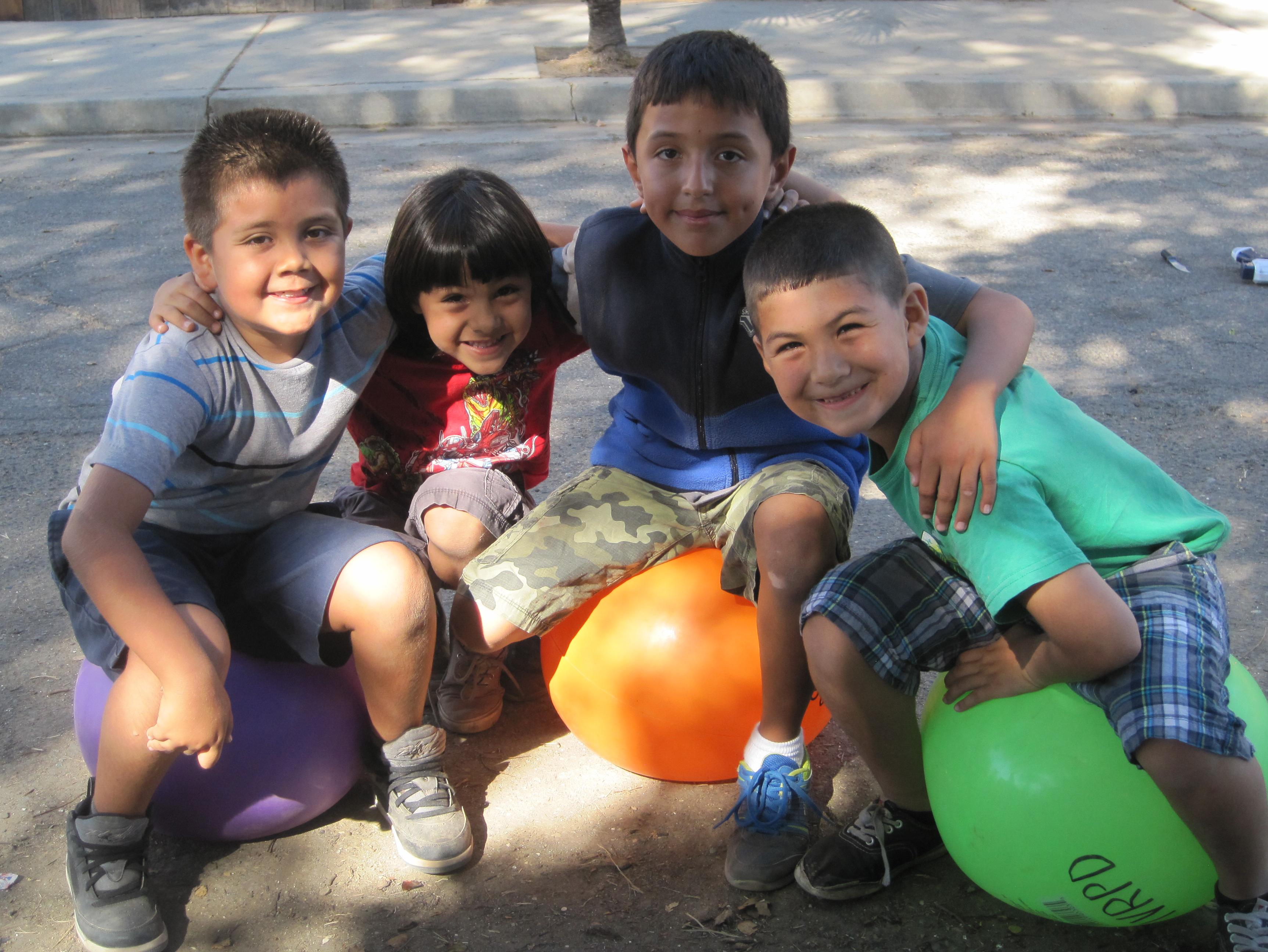 Friends in Children's Park