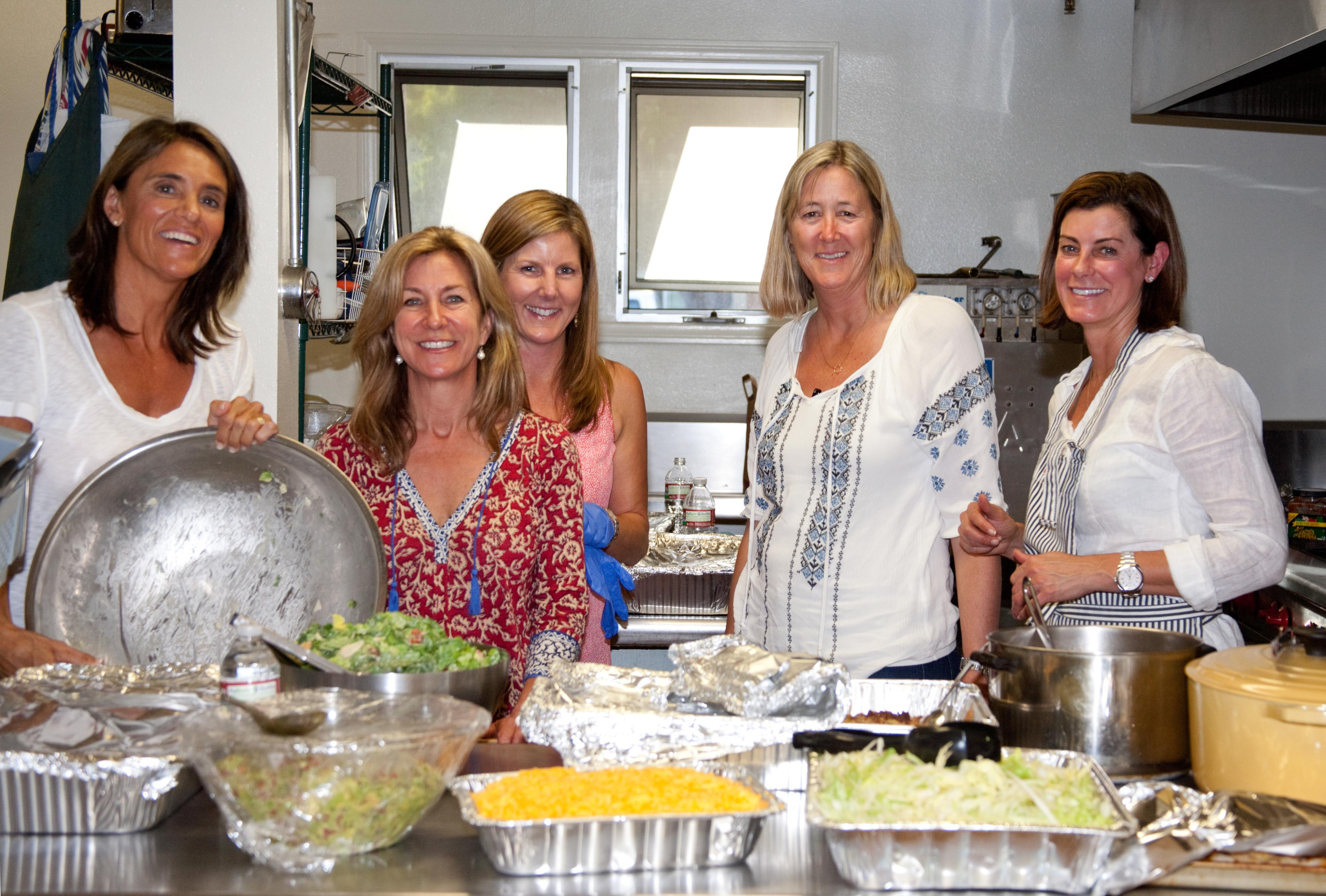 Transition House - dinner served by providers