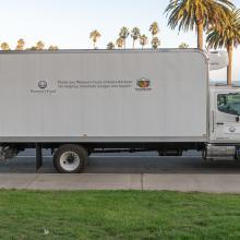 Foodbank truck