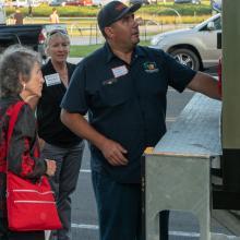 Foodbank truck driver