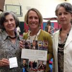 Carol Palladini, Susan Robeck, Carrie Lundquist receive the Girls Inc. award