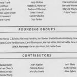 2004 Founding Women's Fund Groups
