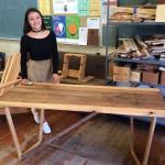 SBHS construction student, Melissa Perez