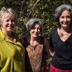 Sarah Stokes, Carol Palladini and Sallie Coughlin