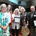 Women's Fund Honored by Kinwanis in 2019