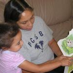St. Vincent's of Santa Barbara: Mother and daughter reading together