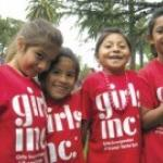 2007 Girls, Inc. happy girls in their red tee-shirts