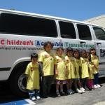 EasyLift: a new van with yellow-dressed children