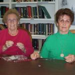 Family Services Agency: two women with jewelry