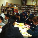Parent Project: parents in classroom