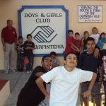 2008 United Boys & Girls Club goup with boy in white t-shirt