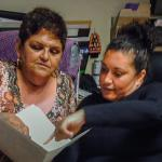 Casa Esperanza Counselor and Client
